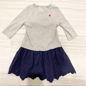 OSHKOSH B'GOSH Dress with Ruffled Skirt